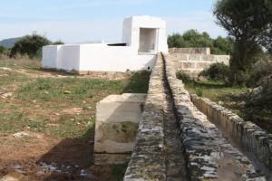 The refurbished cistern