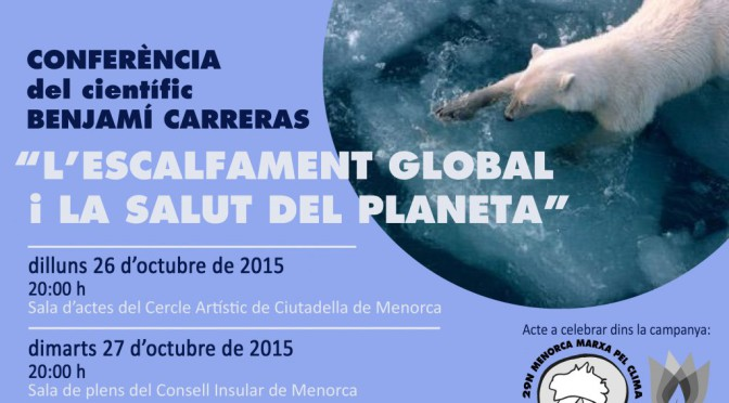Talk on Global Warming and the Health of the Planet