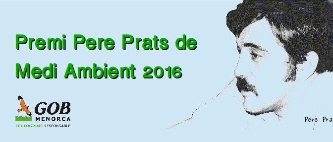 Participate in The Pere Prats Prize for the Environment