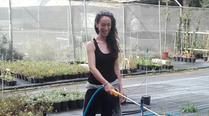 EVS volunteer Dóra Szefcsik