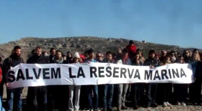 Demonstration to support the Marine Reserve