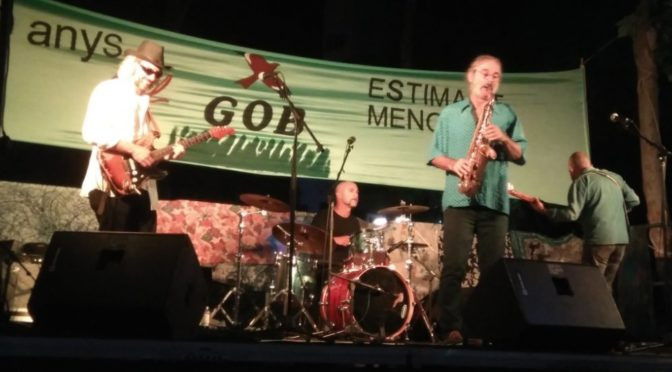 Report of Party to celebrate the 40th Anniversary of GOB in Menorca