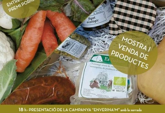 Agroecological fair in Ferreries