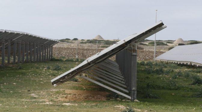 Solar power plant in Son Salomó