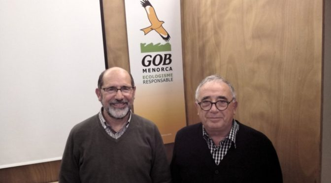 Carlos Coll, new President of the ever growing GOB Menorca