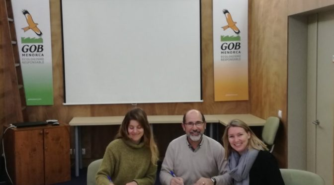 Agreement with Menorca Preservation Fund