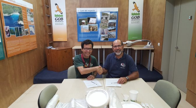 Agreement with Scouts of Menorca