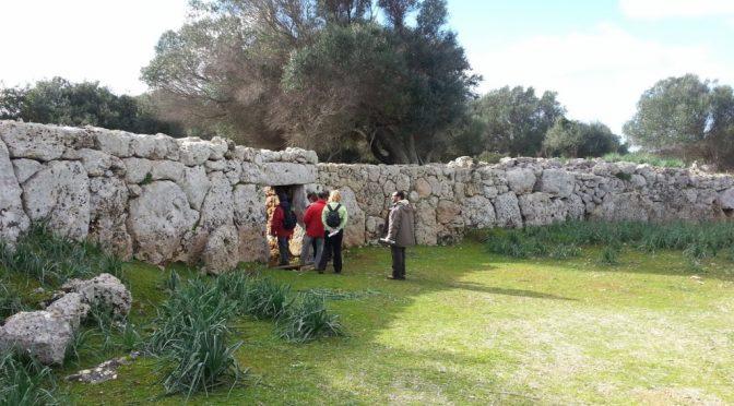 Son Catlar stone wall