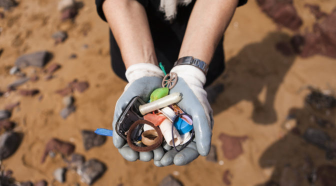 Small particles of plastic are currently one of the main epidemics of the sea