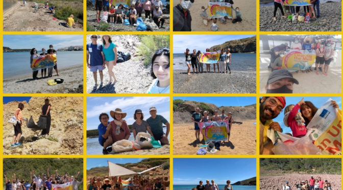 """35 groups participate along the coastline in """"Clean Up The Med"""""""